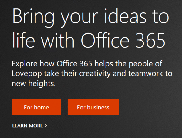 Microsoft Office 365 - Learn More Here