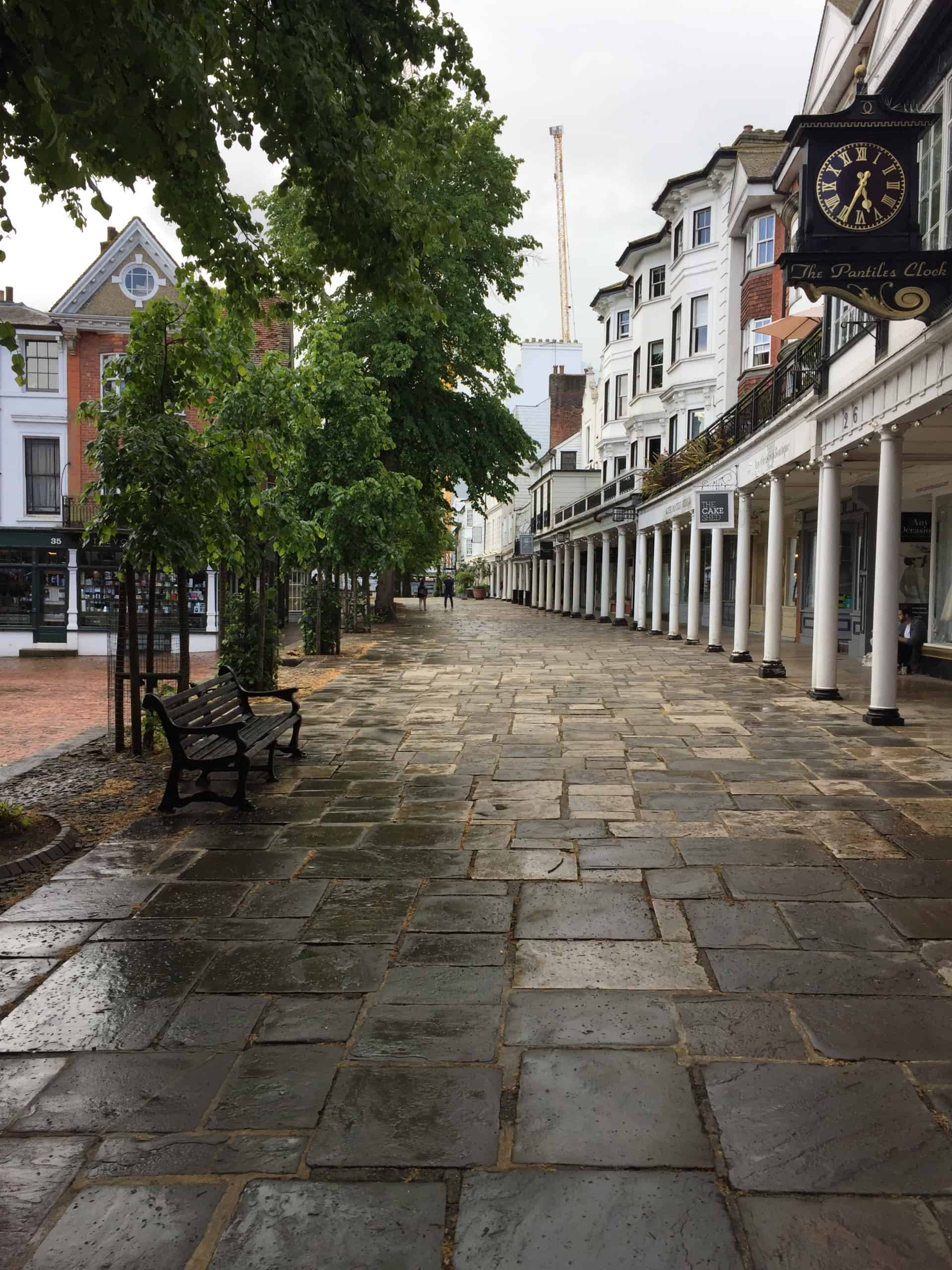 IT Company in Tunbridge Wells - picture of the Pantiles Tunbridge Wells